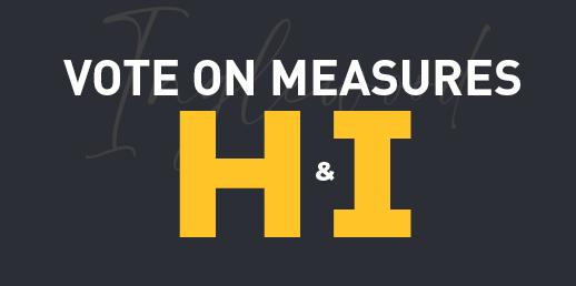 Vote on Measures H&I